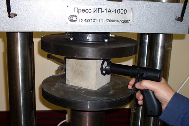 контроль качества брусчатки
